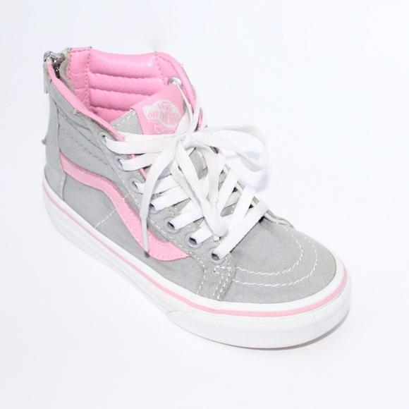 Vans Shoes | Vans Girl High Top Grey